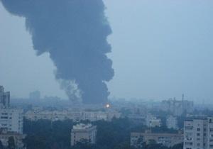 Милиция намерена возбудить уголовное дело в связи с пожаром на складах Эльдорадо в Киеве
