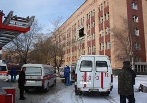 Фотогалерея: Взрыв в реанимации. Трагедия в луганской больнице №7