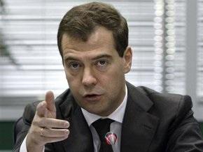 Медведев обвинил Ющенко в русофобии