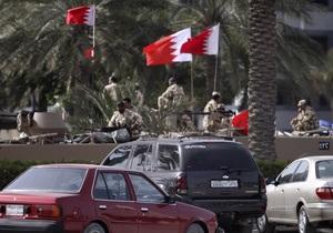 Военные Саудовской Аравии будут следить за порядком в Бахрейне