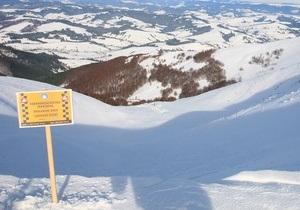 На Закарпатье найден мертвым второй сноубордист, попавший под лавину
