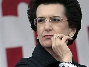 Бурджанадзе не ждет от встречи с Саакашвили каких-либо результатов