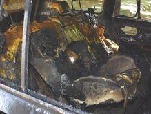 В Москве подожгли еще одну иномарку