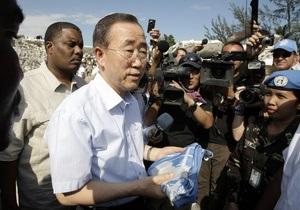 Генсек ООН рекомендует Совету Безопасности отправить на Гаити еще 3,5 тысяч миротворцев