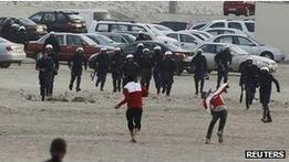 Годовщину протестов в Бахрейне отметили беспорядками