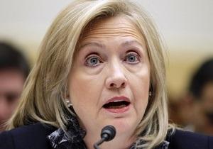 Клинтон: В Ливии может начаться затяжная гражданская война