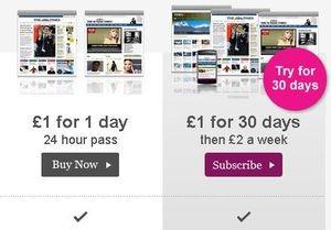 Сайты газеты Times стали платными