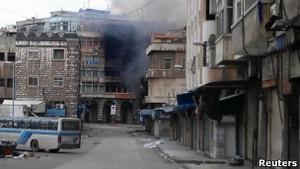 Красный Крест не смог попасть в мятежный район Хомса