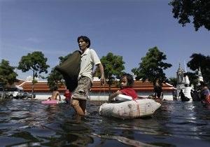 В Таиланде подсчитали возможные убытки туриндустрии от наводнения