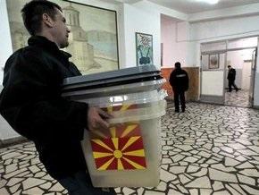 В Македонии сегодня выбирают президента