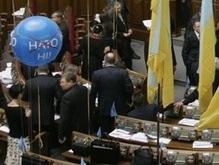 Регионалы пришли в Раду на встречу с Яценюком