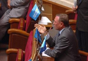 В ПР прогнозируют, что 2 марта Литвин объявит о прекращении деятельности коалиции