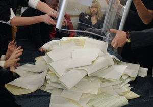 Центризбирком признал народными депутатами всего 129 кандидатов