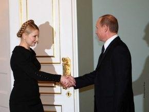 Тимошенко и Путин снова встретились