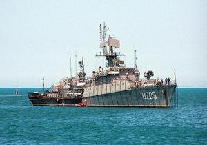 Корвет Тернопіль завершил первое патрулирование в Средиземном море