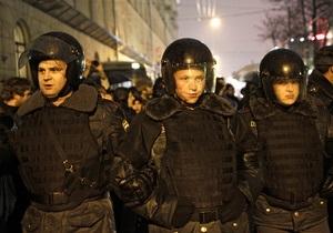 В Москве полиция стягивается к месту проведения митинга оппозиции