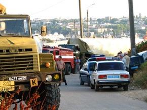 В Севастополе работники ГАИ вновь задержали бронетехнику ЧФ России