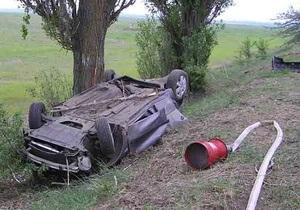 В аварии на юге Киевской области погибли шесть человек