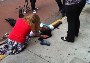 Инцидент с нью-йоркским стрелком: Девять прохожих были ранены полицейскими