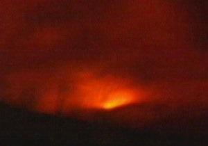 В Исландии произошло извержение вулкана