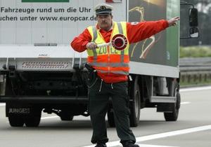 В Германии задержали украинца с чеком на 125 млн евро