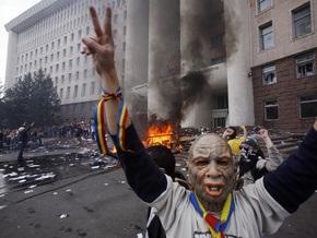 Демонстранты захватили здание администрации президента Молдовы