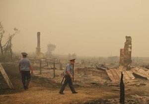 Число жертв пожаров в России возросло до 50 человек