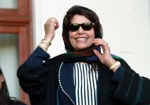 Жена Каддафи назвала своих мужа и сына мучениками