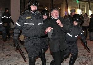 В Минске задержали шестерых участников акции протеста