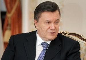 Янукович ветировал сразу три закона
