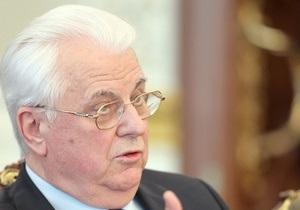 Кравчук считает, что работа Рады не идет на пользу евроинтеграции