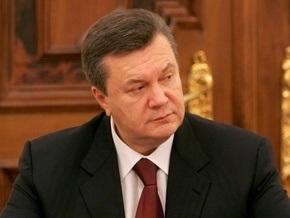 Янукович возглавил избирательный штаб Партии регионов