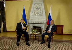 Президенты Украины и России не смогли подвести анонсированные Януковичем итоги газовых переговоров