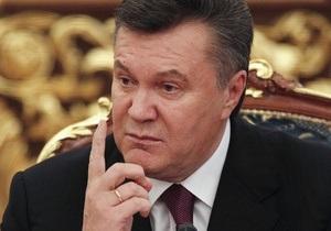 Янукович предложил Раде создать в СБУ подразделение контрразведки в сфере информационной безопасности