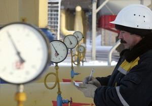 Газпром требует для себя прозрачности процесса закачки газа в украинские хранилища