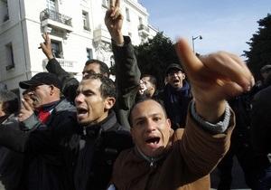 В Тунисе распустили правившую при свергнутом президенте партию