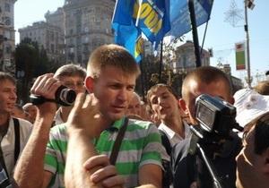 Скандальная сессия Киевсовета: Милиция начала уголовное производство
