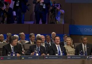 Янукович в Чикаго встретился с тремя президентами