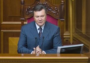 Янукович лично предложил нардепам утвердить кандидатуру Пшонки на пост генпрокурора