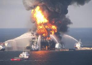 Глава ВР назвал причины аварии в Мексиканском заливе: Плохо зацементировали