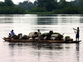На реке в ДР Конго затонуло судно: девять человек погибли, около 100 пропали без вести