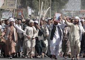 В Афганистане начались массовые протесты из-за расстрела мирных жителей солдатом США