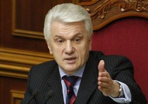 Литвин: Ситуация в парламенте Украины стабильно сложная