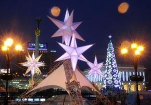 В Киеве на Майдане установят искусственную 40-метровую елку
