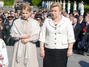 Ульянченко и Тимошенко возложили цветы к памятникам Грушевскому и Шевченко