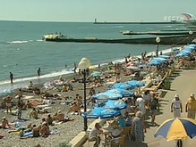 Взрыв на пляже в Сочи: есть жертвы