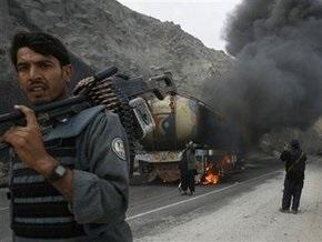 Боевики напали на колонны с амуницией и топливом для контингента НАТО в Афганистане