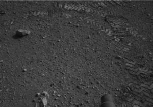 Кьюриосити успешно прошел тест-драйв на поверхности Марса