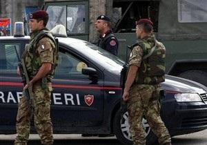 В Италии арестовали связанного с наркомафией чиновника