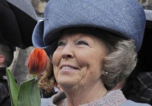 СМИ: Королева Нидерландов сегодня объявит об отречении от престола